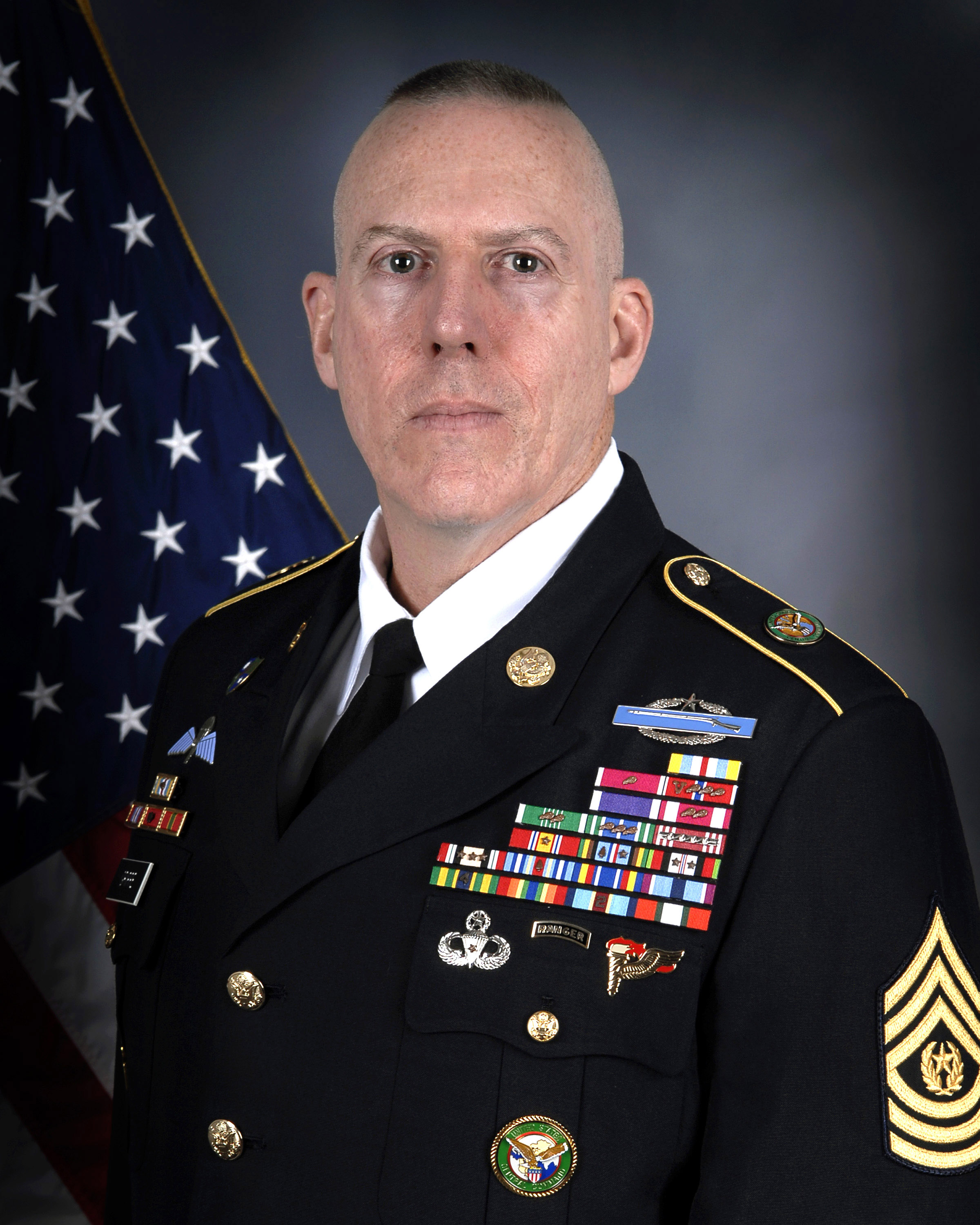 Frank Grippe (Command Sergeant Major)