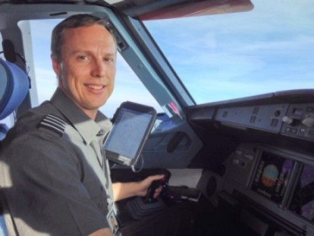 Capt. Jeff Bacon of Virgin America Airlines